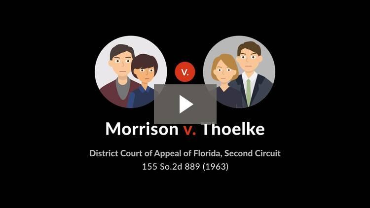 Morrison v. Thoelke