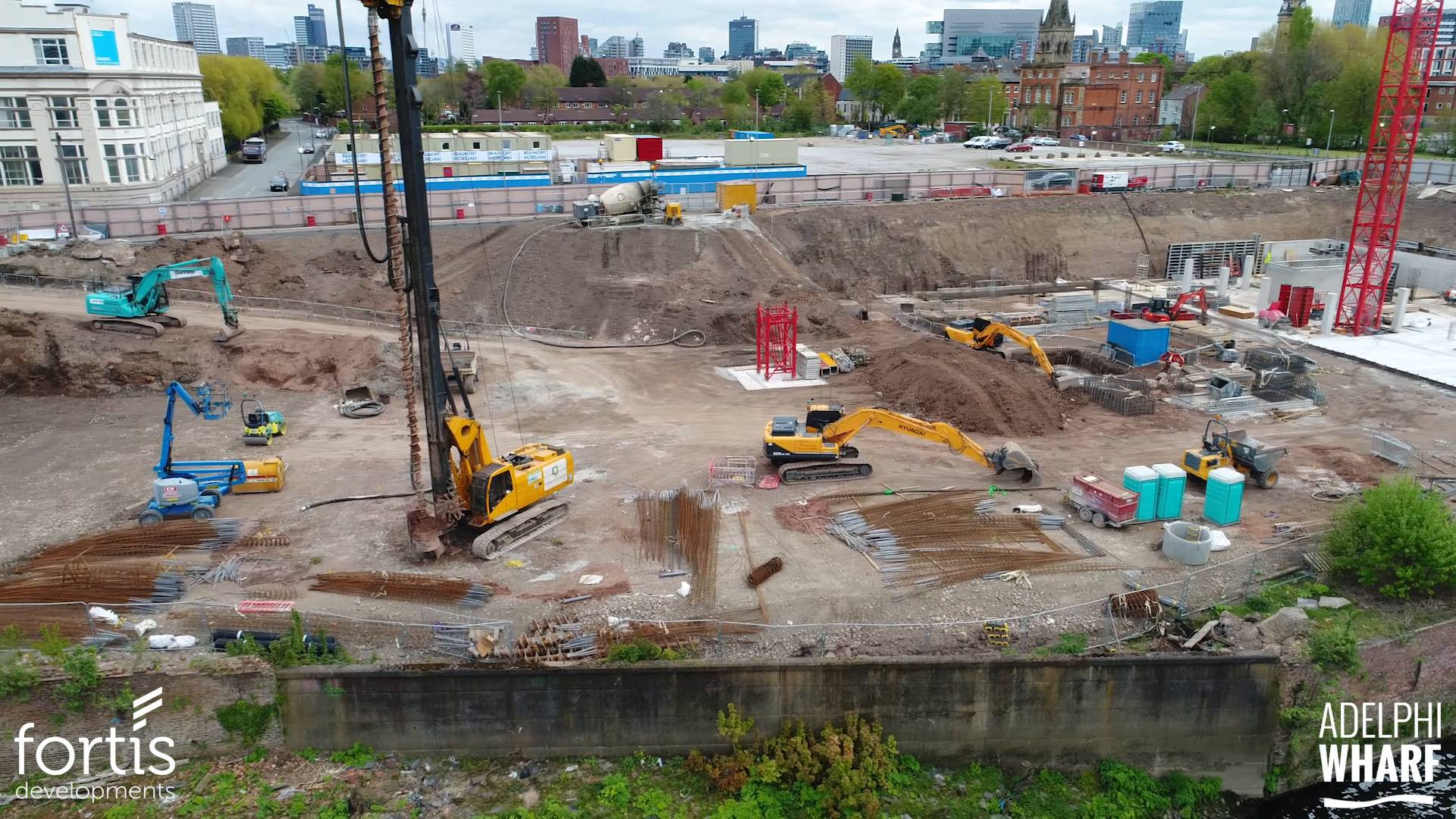 Adelphi Wharf Phase 3 - Drone Footage - May 2017
