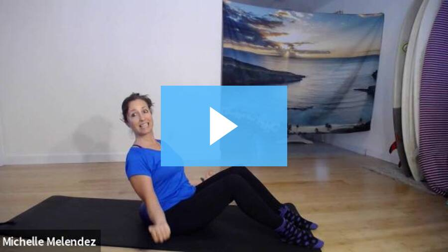 I Surrender Control and Trust In Life (Pilates Full-Body)