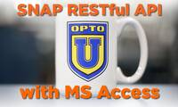 SNAP PAC RESTful API to MS Access