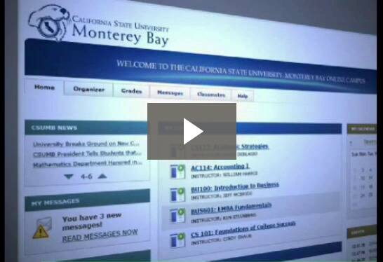 An overview of how online learning works at CSUMB.