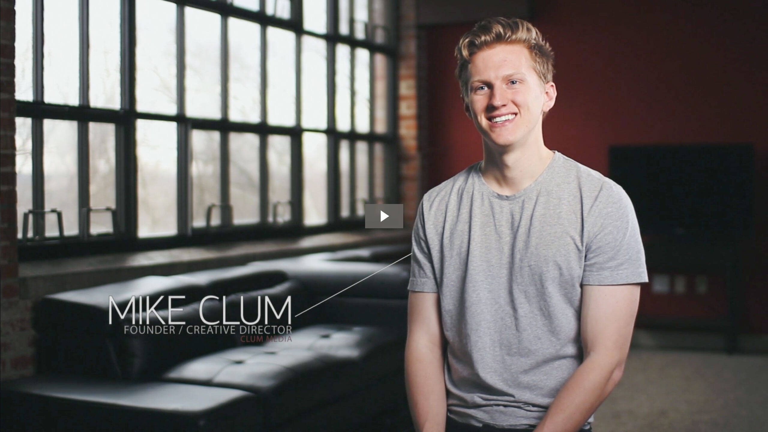 Video production company, Cleveland Video Production Company, Clum Creative Media