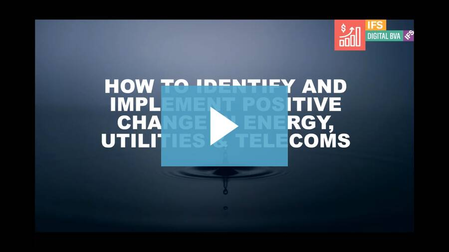 How to identify and implement positive change in Energy, Utilities & Telecoms