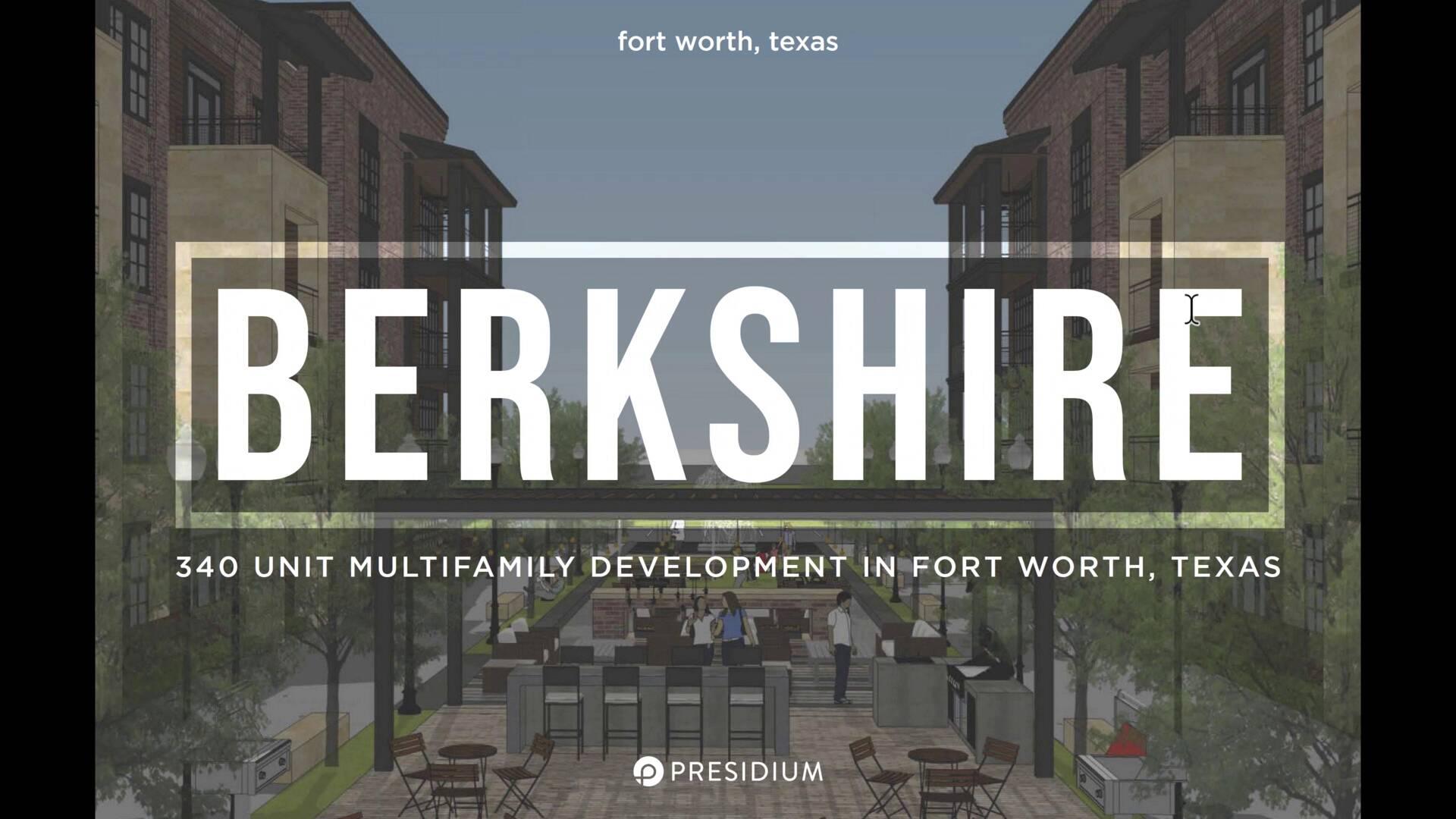 Investment Video - Presidium at Berkshire