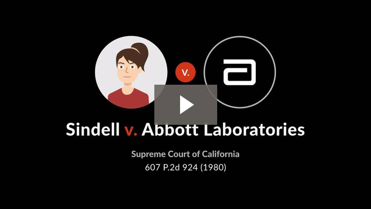 Sindell v. Abbott Laboratories
