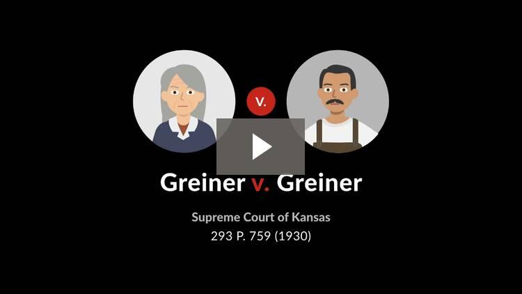 Greiner v. Greiner