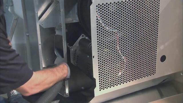 Dexter Stack Dryer Heating Circuit for the 60 Hertz DDAD30KCS-65 Gas Dryer