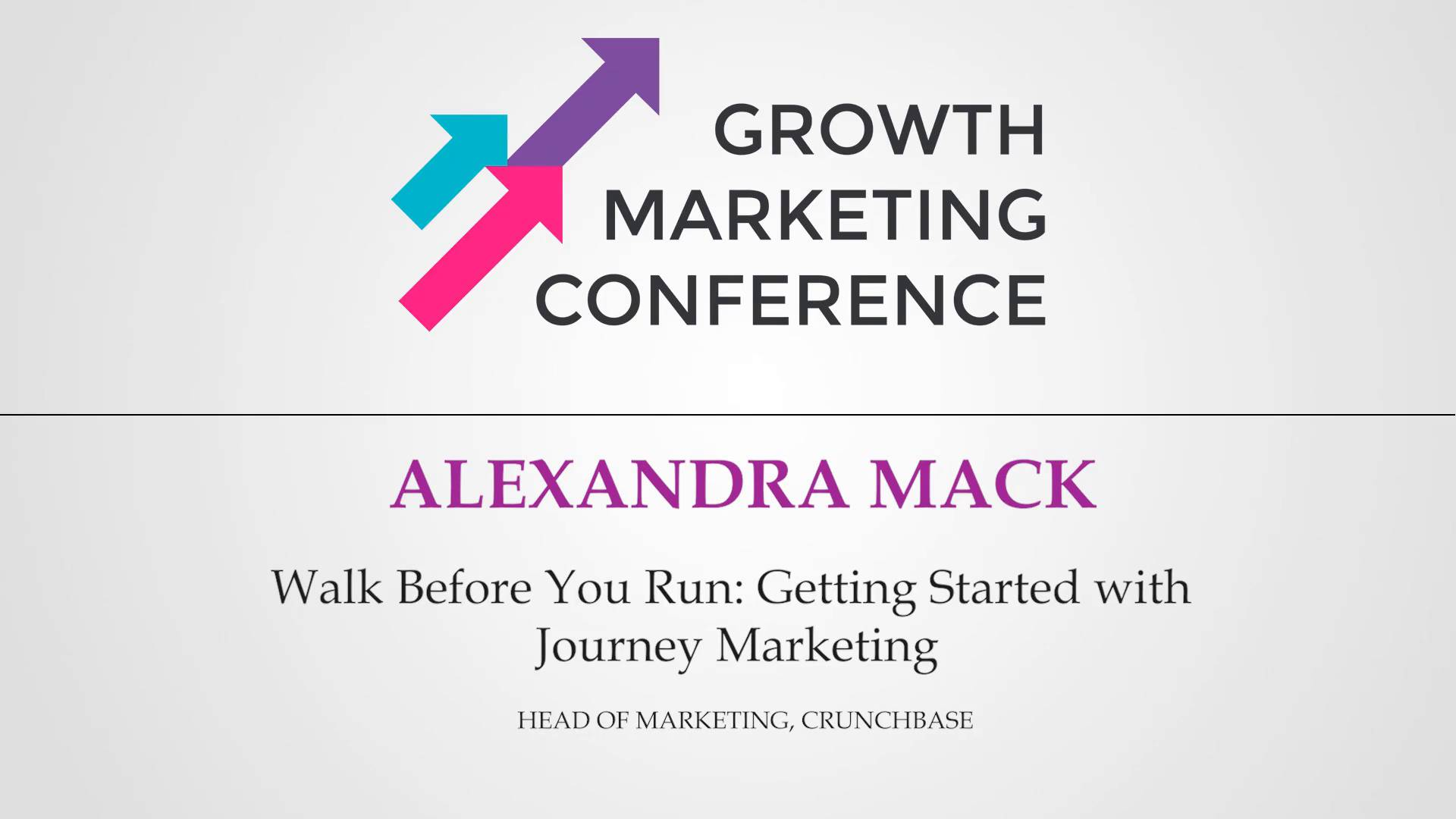 Walk Before You Run: Getting Started with Journey Marketing Cover Image
