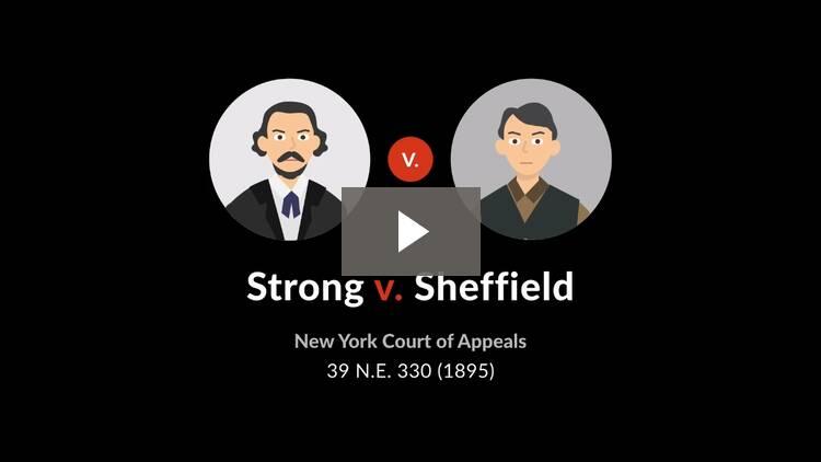 Strong v. Sheffield