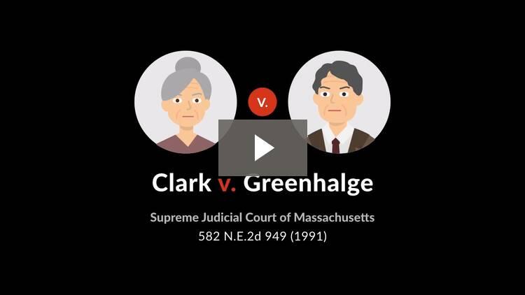 Clark v. Greenhalge