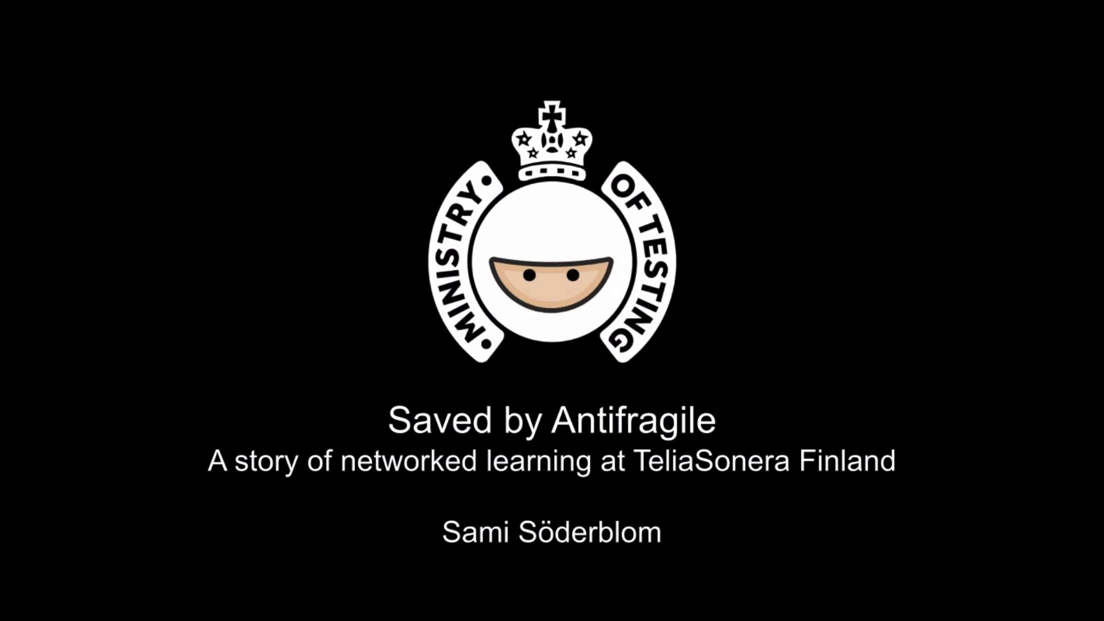 Saved by Antifragile by Sami Söderblom