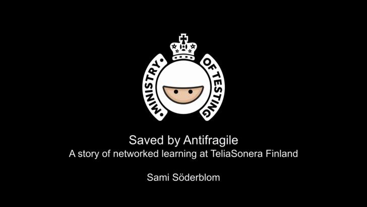 Saved by Antifragile by Sami Söderblom