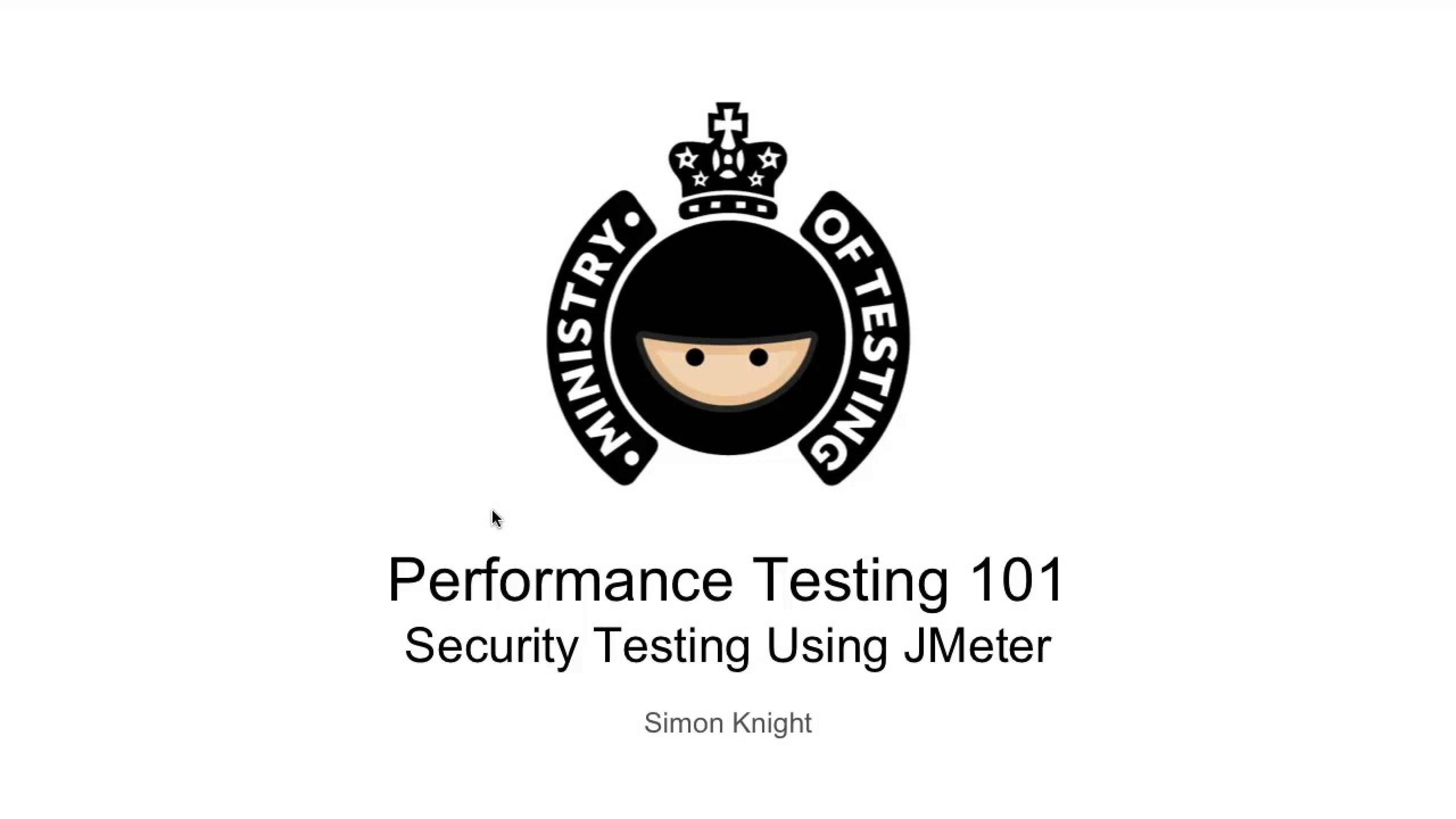 Security Testing Using JMeter
