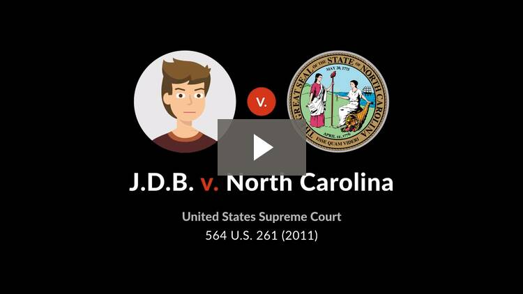 J.D.B. v. North Carolina
