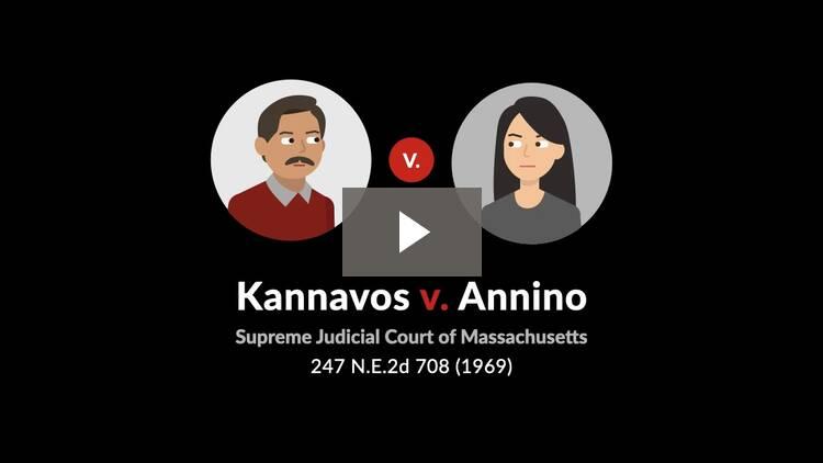 Kannavos v. Annino