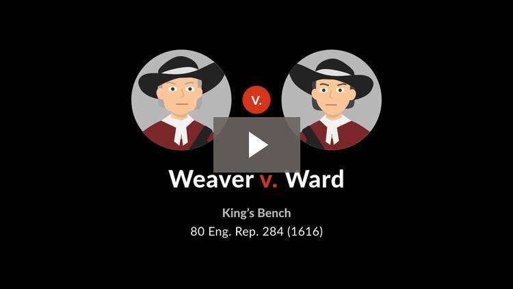 Weaver v. Ward