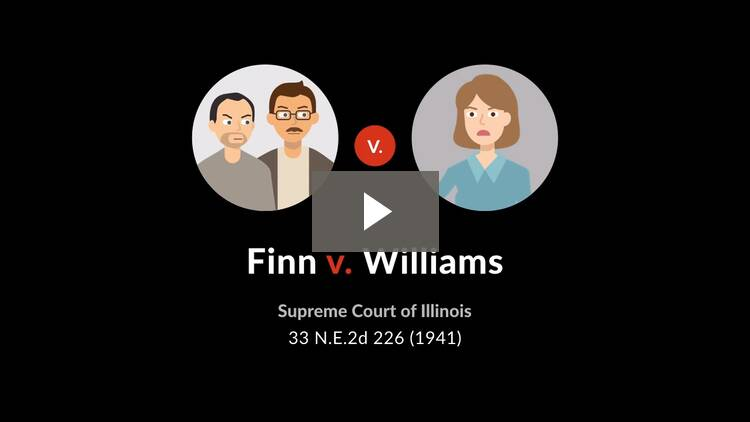 Finn v. Williams