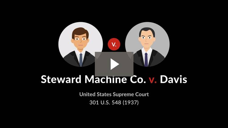 Steward Machine Co. v. Davis