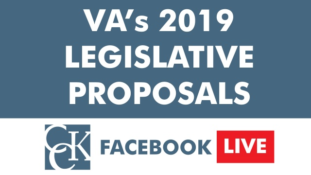 VA's 2019 Legislative Proposals