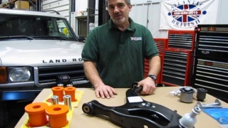 Fixing Lower Control Arm Issues On LR3 / Range Rover Sport