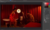 Thumbnail for The Red Room / Photoshop-Dodge, Burn, & Color Adjustments