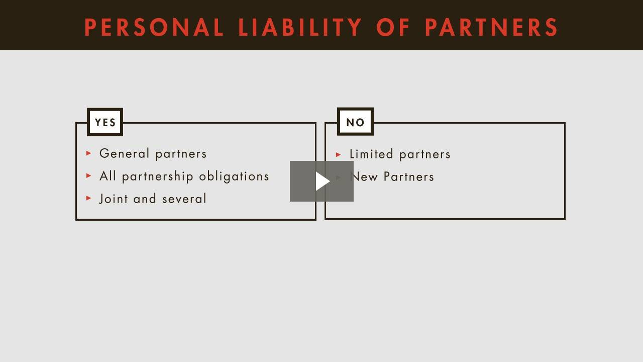 Liabilities to Third Parties