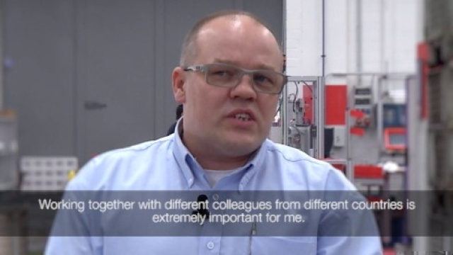 Sven Alf Raffelsiefen (Supervisor, Chuck Assembly, Manmade Fibers Segment)