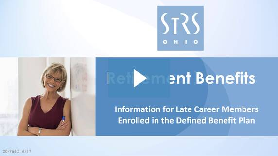 Thumbnail for the 'Retirement Benefits: Defined Benefit Plan' video.
