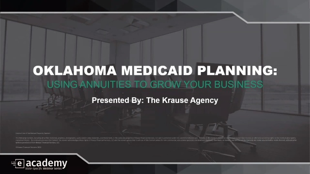 Oklahoma Medicaid Planning: Using Annuities to Grow Your Business
