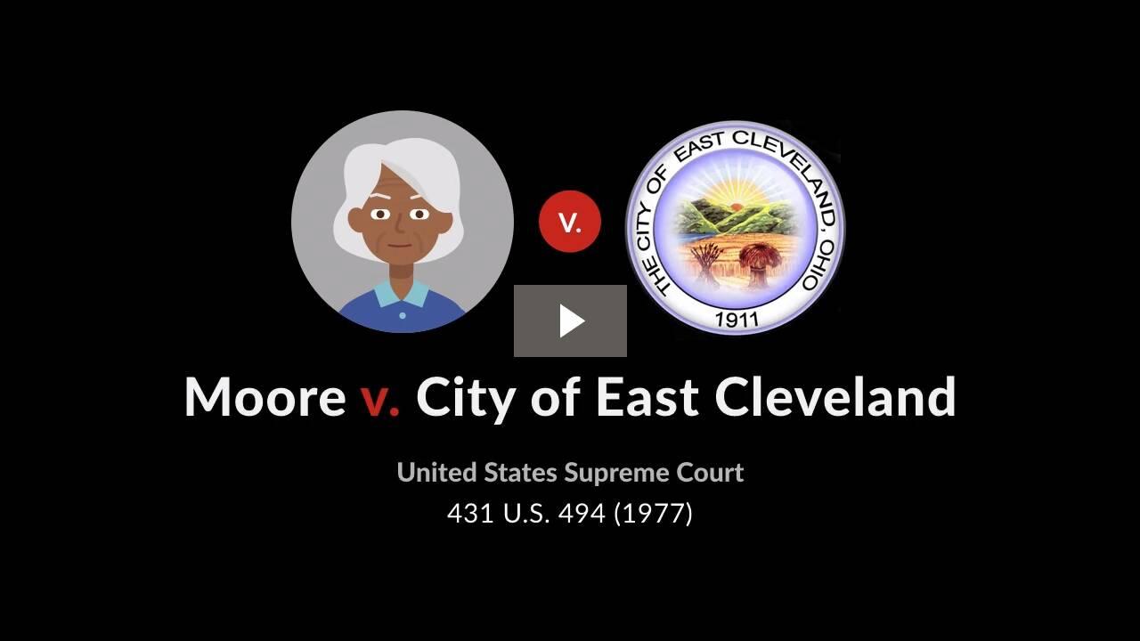 Moore v. City of East Cleveland, Ohio