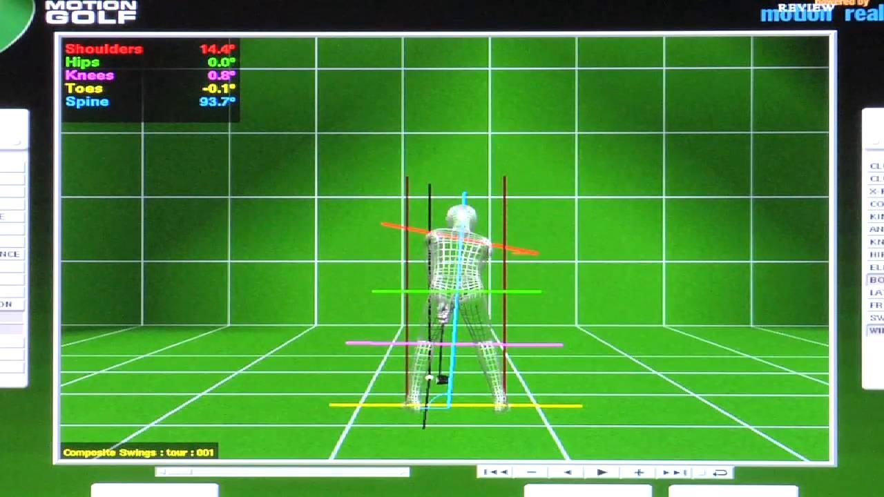 Maximum Power 1.0: Motion Golf - Legs & Hips