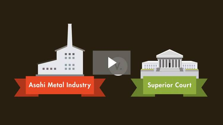 Asahi Metal Industry Co. v. Superior Court