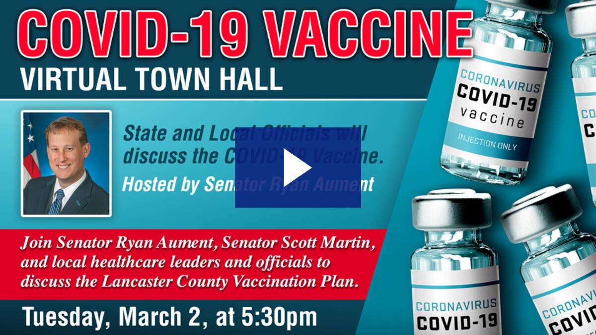 3/2/21 – COVID-19 Vaccine Virtual Town Hall
