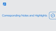 Corresponding Notes and Highlights