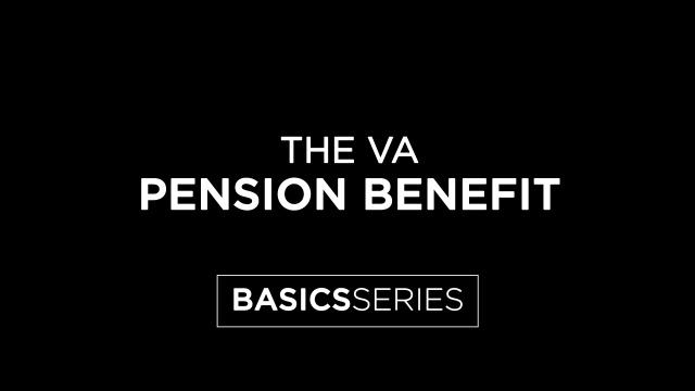 The VA Pension Benefit