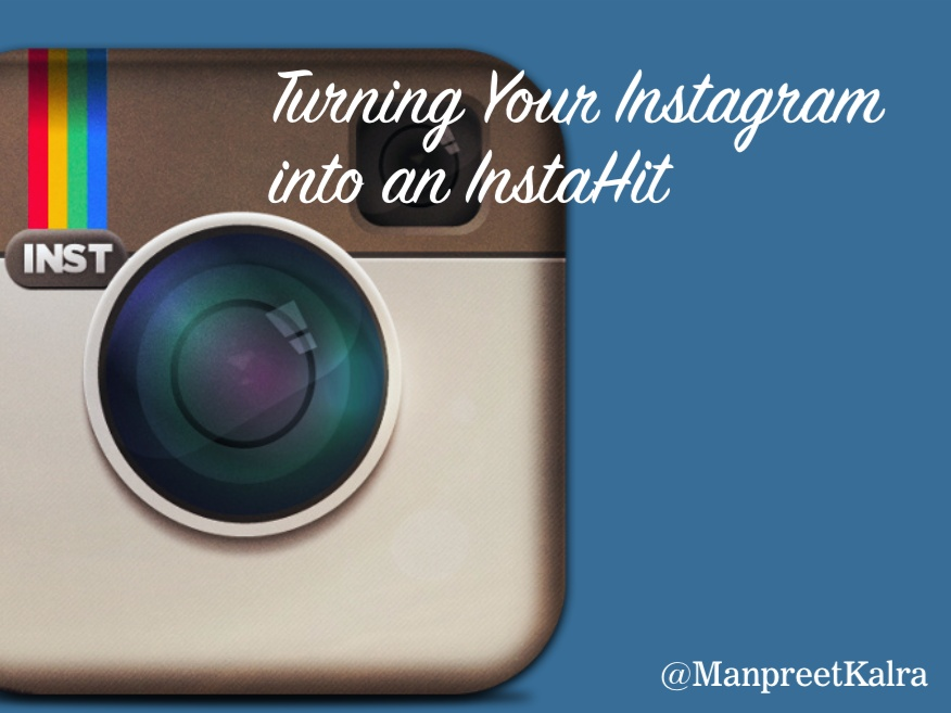 Turn Your Instagram into an InstaHit