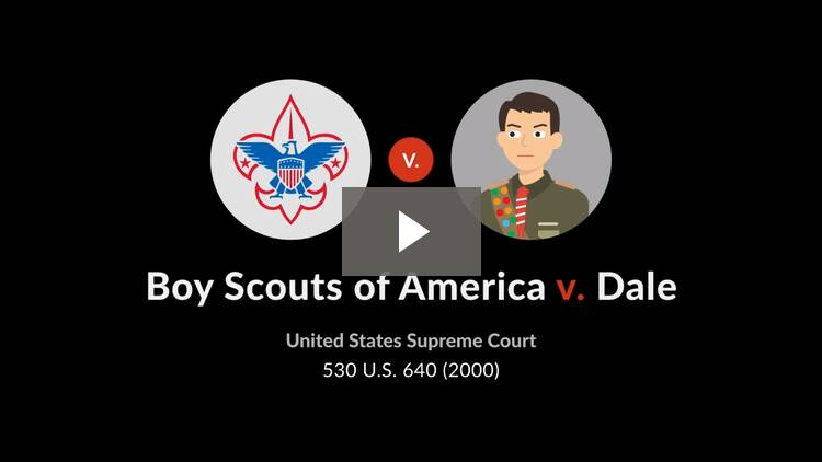 Boy Scouts of America v. Dale