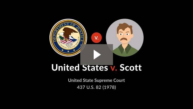 United States v. Scott