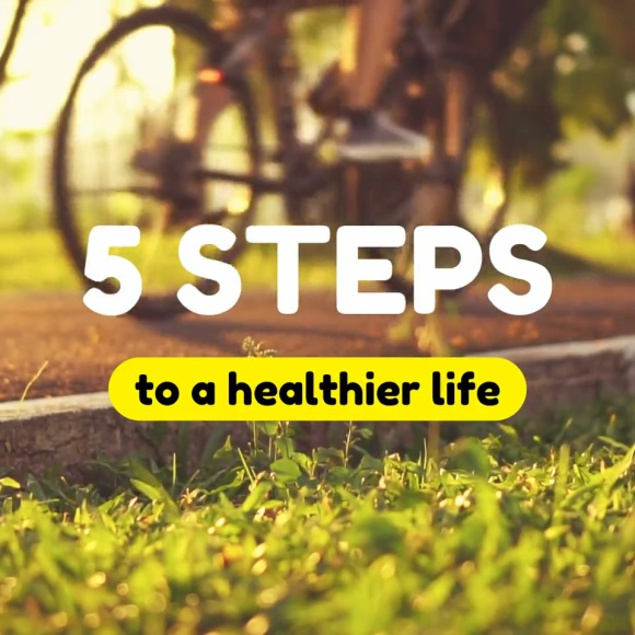 5 Steps to a Healthier Life