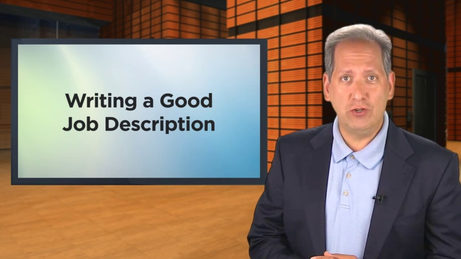 How to Write a Good Job Description -subscription