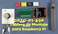 (Spanish) Montaje de Raspberry Pi con Kit de I/O de Opto 22