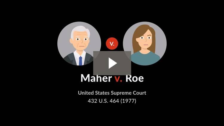 Maher v. Roe