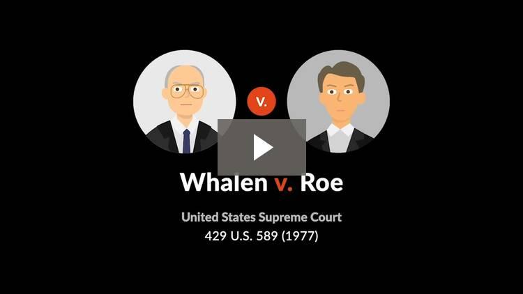 Whalen v. Roe