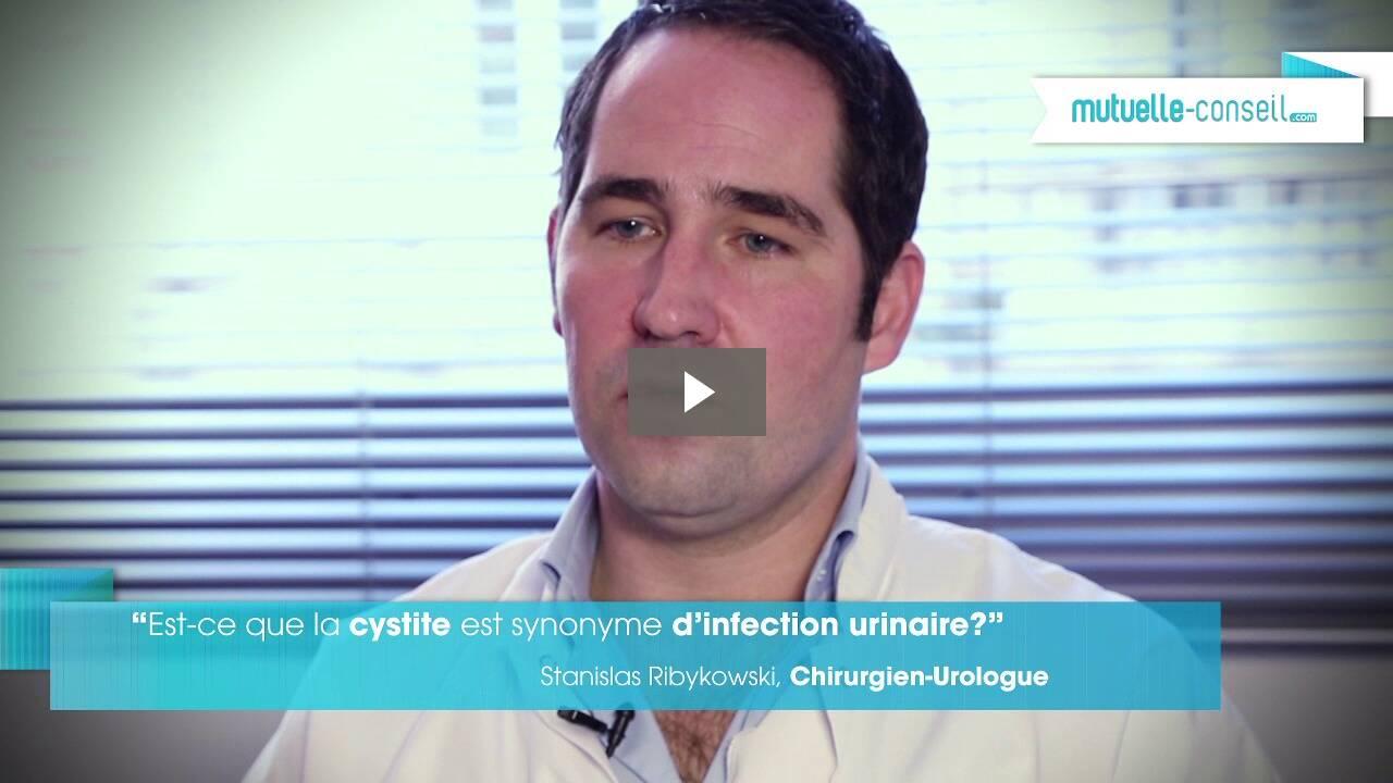 Est-ce que la cystite est synonyme d'infection urinaire ?