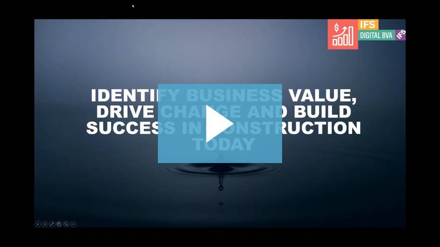 How to: identify business value, drive change and build success in construction today
