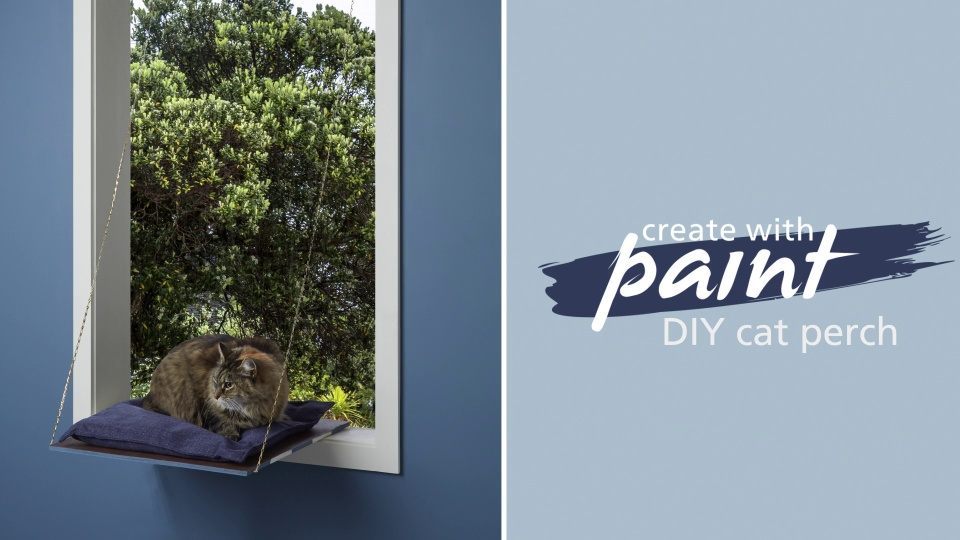 Habitat TV Video: DIY cat perch