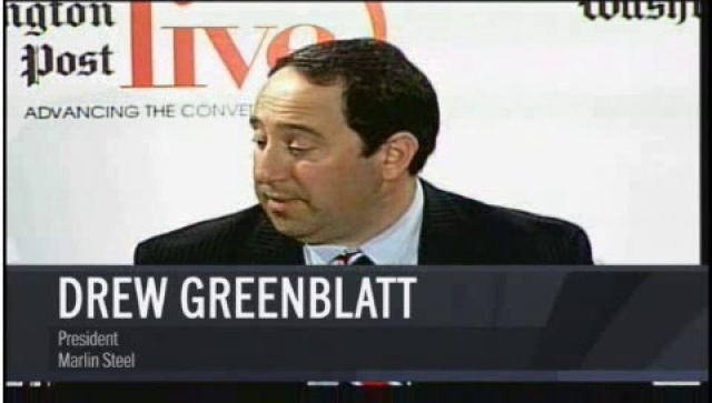Drew Greenblatt, President of Marlin Steel, on Washington Post Live
