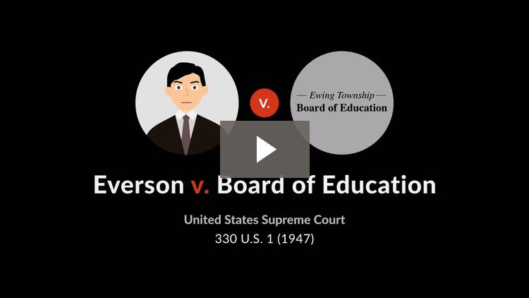 Everson v. Board of Education