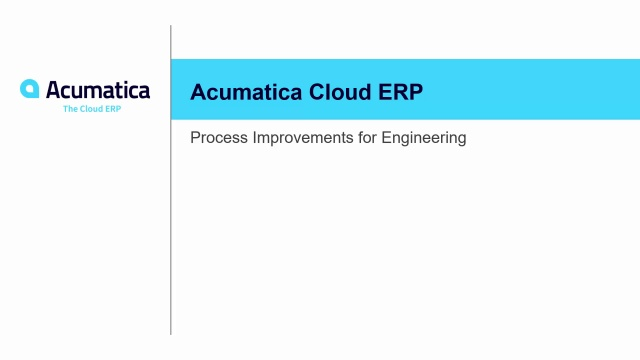 2019 R2 Process Improvements for Engineering