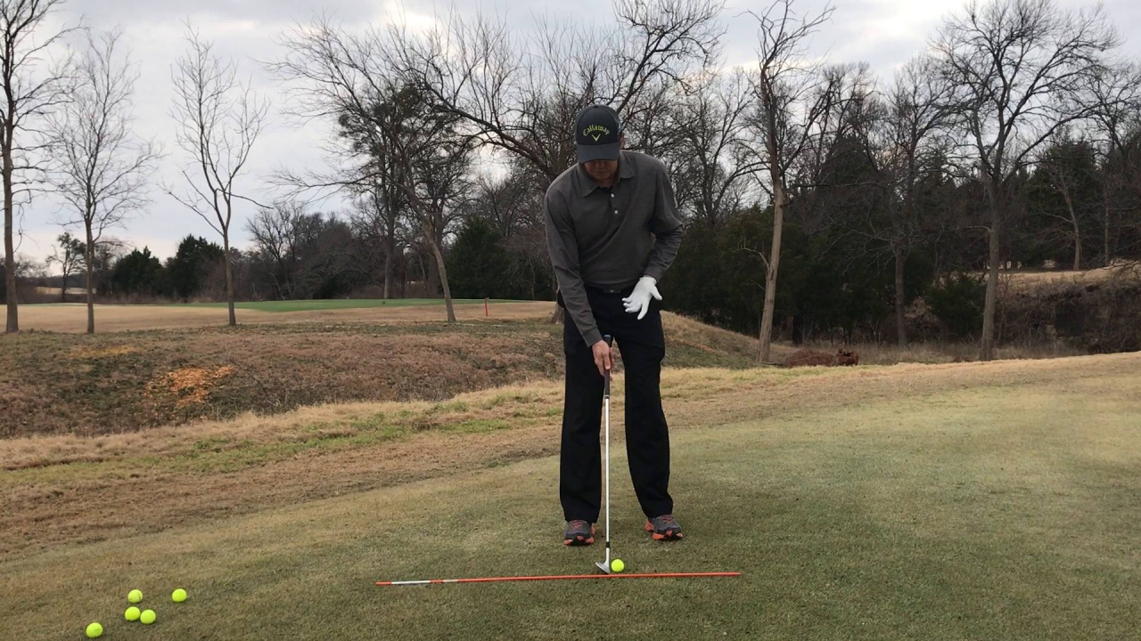 Correct Ball Position For Chipping